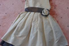 Robe de mariée avec fillette