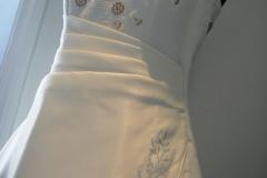 Transformation de robe de mariée